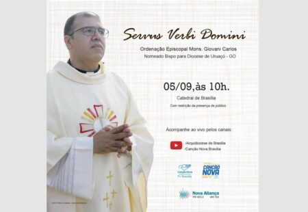 Mons. Giovani Caldas será ordenado bispo no próximo dia 5 de setembro